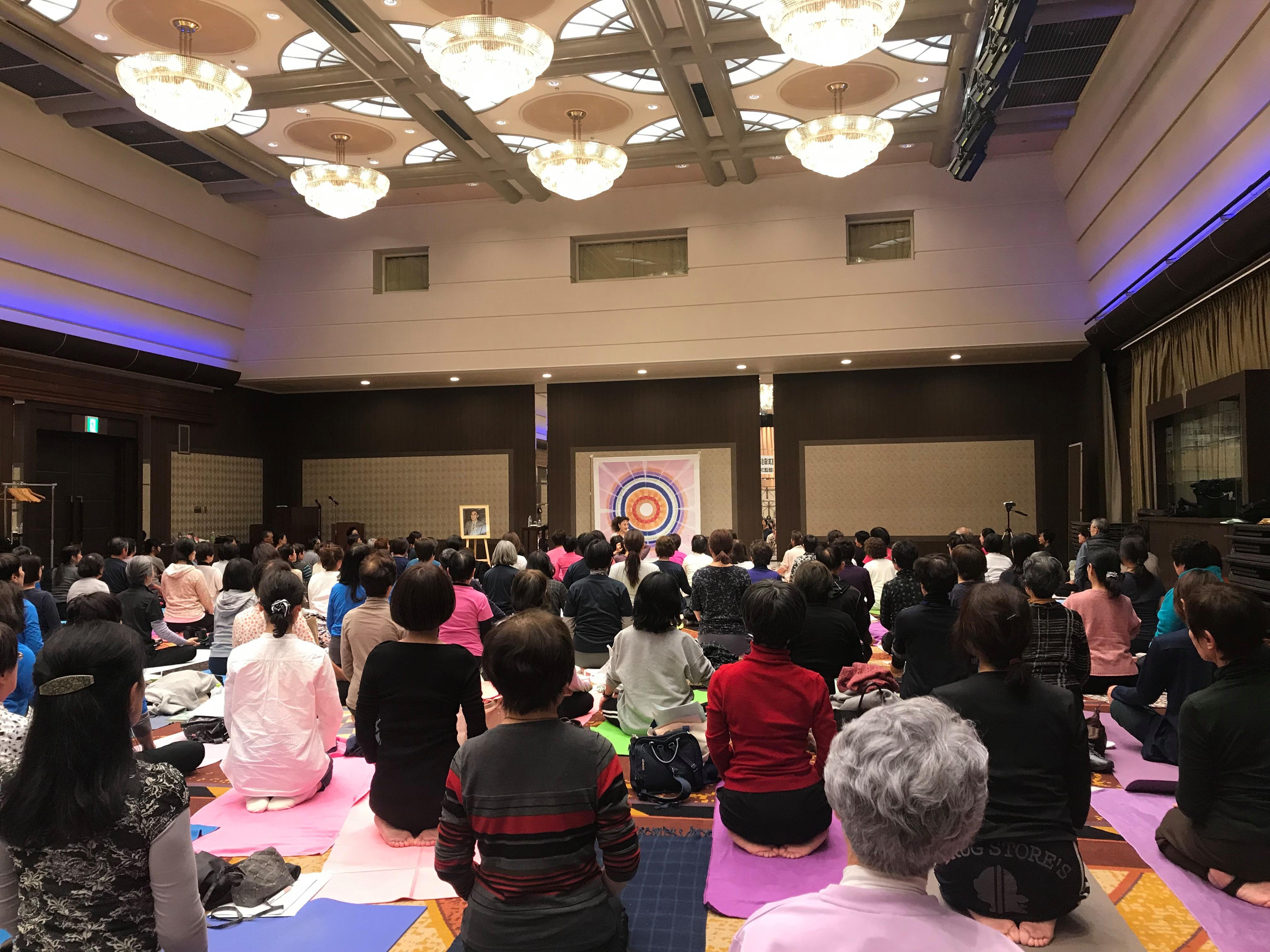 日本ヨーガ道友協会指導者養成講座に参加しました